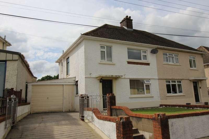 3 Bedrooms Semi Detached House for sale in Rhosdeg, Llandeilo, Carmarthenshire, SA19