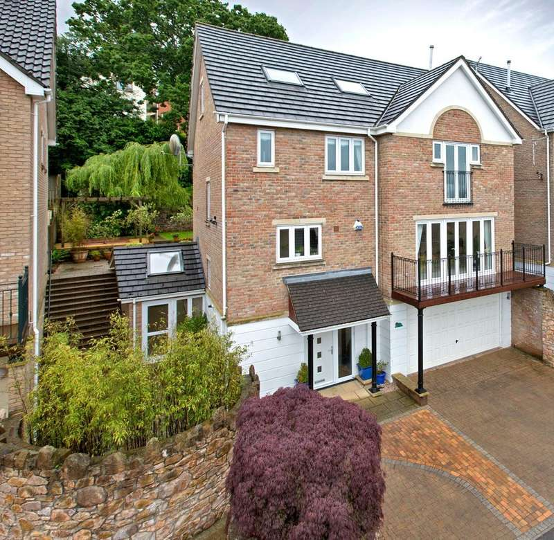 4 Bedrooms Detached House for sale in Nelson Place, Newton Abbot