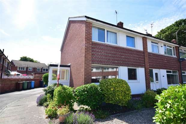 3 Bedrooms End Of Terrace House for sale in Vicarage Close, LYTHAM ST ANNES, Lancashire