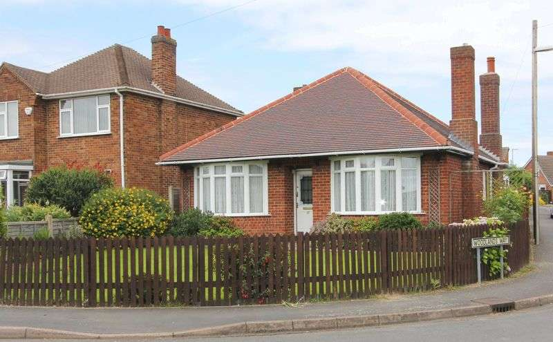 2 Bedrooms Detached Bungalow for sale in Blackfordby Lane, Moira, Derbyshire, DE12 6EX