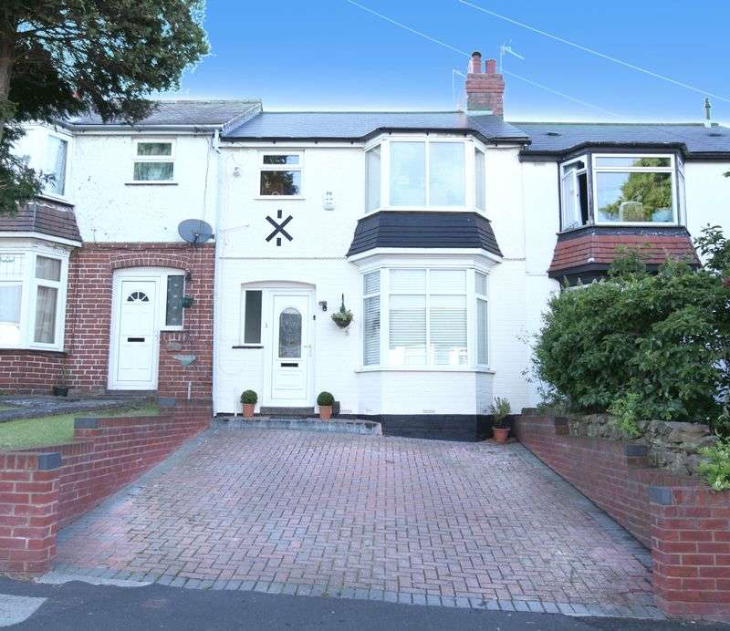 3 Bedrooms Terraced House for sale in Aubrey Rd, Harborne B32 - Extended three bedroom property with driveway