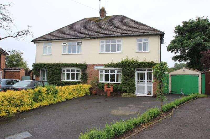 3 Bedrooms Semi Detached House for sale in Chase Crescent, Brocton, Stafford.
