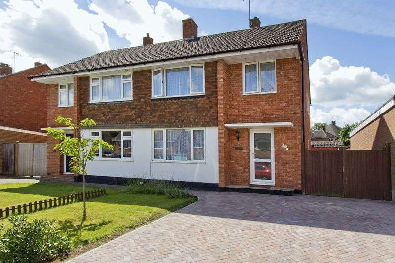 3 Bedrooms Semi Detached House for sale in Elmshurst Gardens, Tonbridge, Kent, TN10 3QT