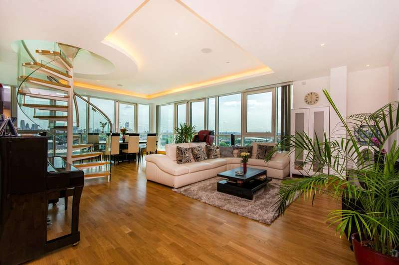 3 Bedrooms Penthouse Flat for sale in St George Wharf, Vauxhall, SW8