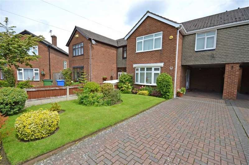 3 Bedrooms Property for sale in LAUSANNE ROAD, Bramhall, Stockport, Cheshire, SK7