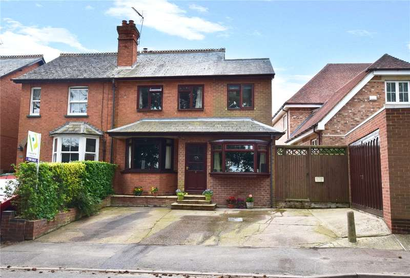 4 Bedrooms Semi Detached House for sale in Holly Villas, Popeswood Road, Binfield, Berkshire, RG42
