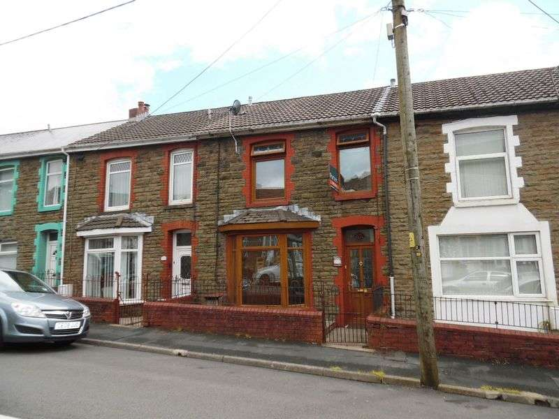 3 Bedrooms Terraced House for sale in Dunraven Place Ogmore Vale Bridgend CF32 7ET