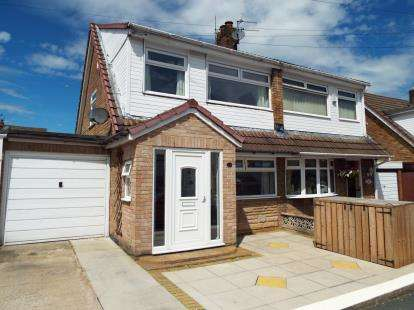 3 Bedrooms Semi Detached House for sale in Sandringham Drive, St. Helens, Merseyside, WA9