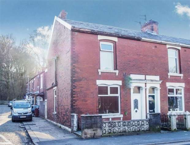 3 Bedrooms End Of Terrace House for sale in Bolton Road, Blackburn, Lancashire