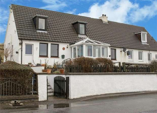 4 Bedrooms Semi Detached House for sale in Aultbea, Achnasheen, Highland
