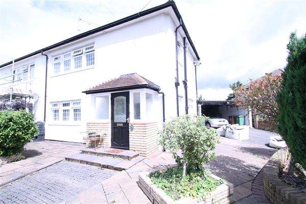3 Bedrooms Semi Detached House for sale in Longlands Avenue