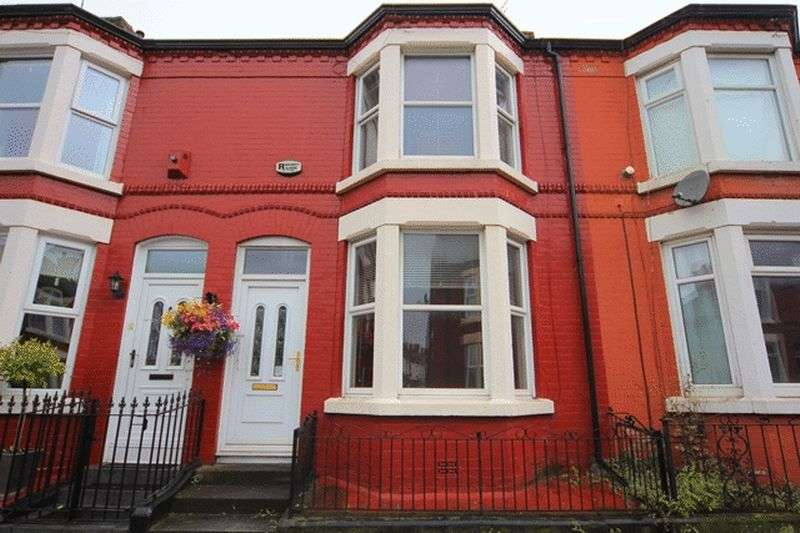 3 Bedrooms Terraced House for sale in Briardale Road, Mossley Hill, Liverpool, L18