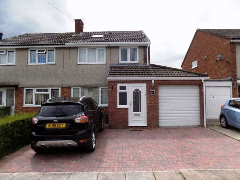 4 Bedrooms Semi Detached House for sale in Woodland Road, Beddau