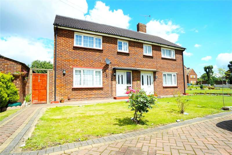 3 Bedrooms Semi Detached House for sale in Landseer Avenue, Northfleet, Gravesend, Kent, DA11