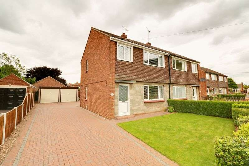 3 Bedrooms Semi Detached House for sale in St. Hybalds Grove, Scawby