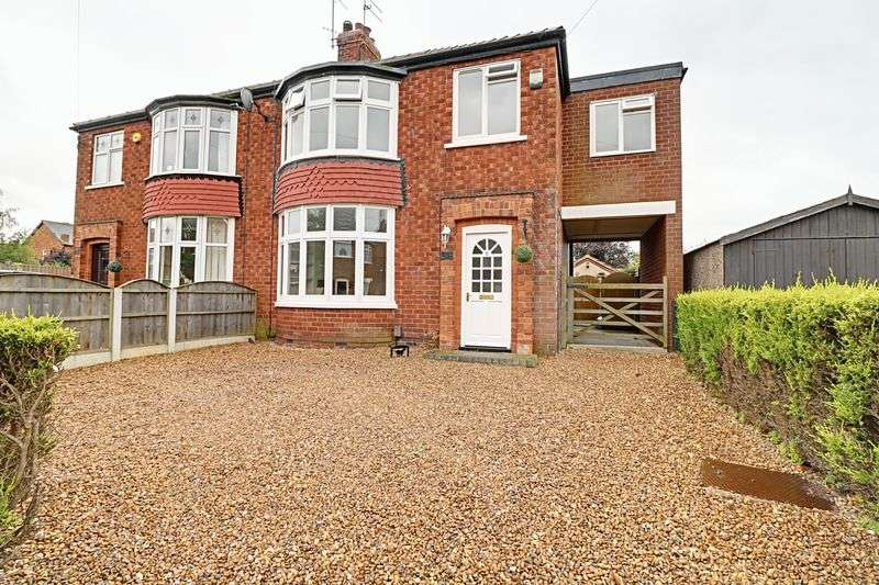 4 Bedrooms Semi Detached House for sale in Norman Crescent, Scunthorpe