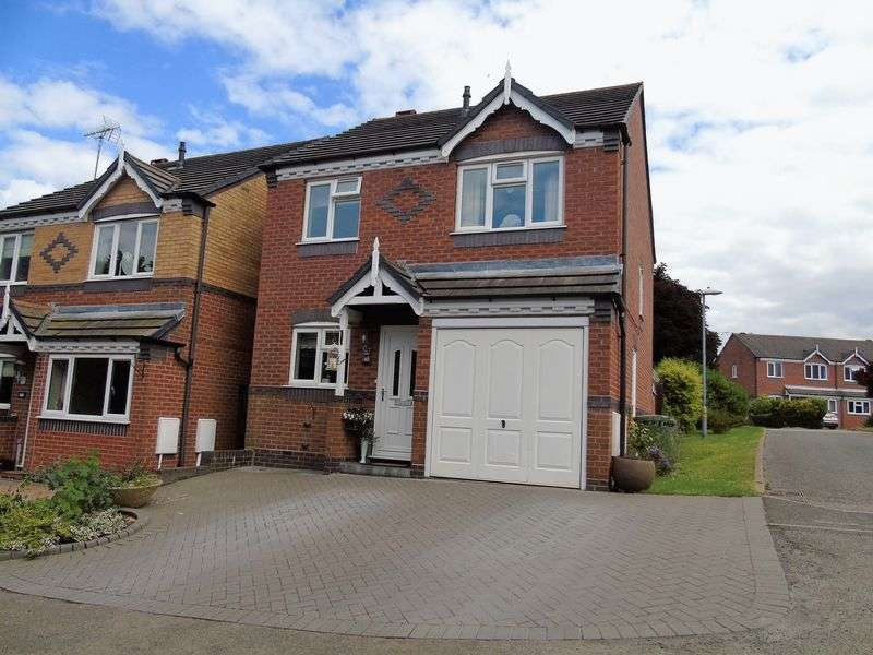 3 Bedrooms Detached House for sale in Debdale Avenue, Lyppard Woodgreen, Worcester