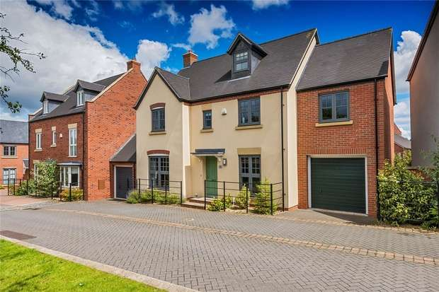 5 Bedrooms Detached House for sale in 6 Stainburn Road, Lawley Village, Telford, Shropshire