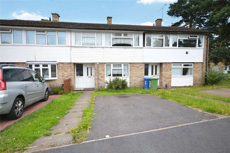 3 Bedrooms Terraced House for sale in Uffington Drive, Harmans Water, Bracknell, Berkshire, RG12