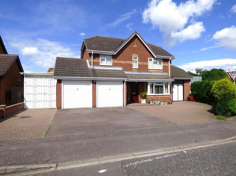 4 Bedrooms Detached House for sale in Hillesden Avenue, Elstow, Bedford, MK42 9YX