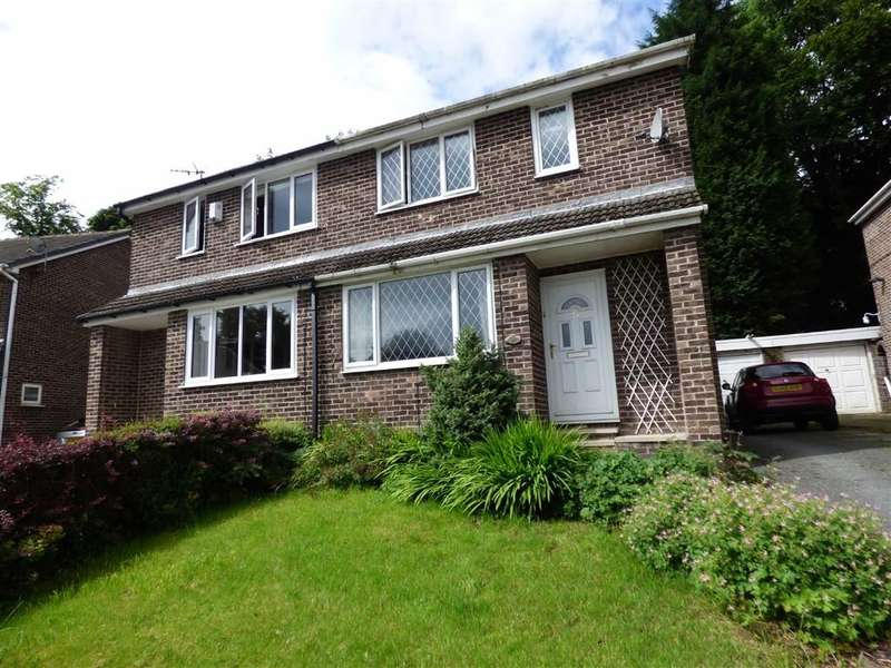 3 Bedrooms Property for sale in Peebles Close, Lindley, HUDDERSFIELD, West Yorkshire, HD3