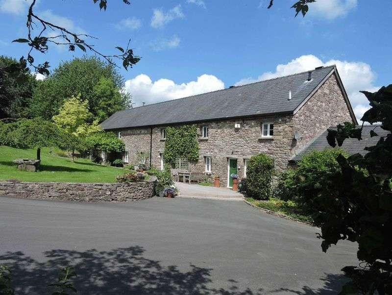 5 Bedrooms Detached House for sale in Llanellen, Abergavenny