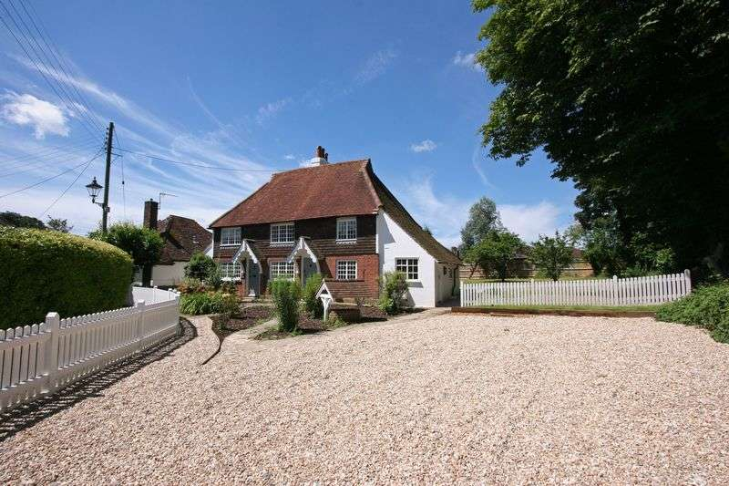 4 Bedrooms Semi Detached House for sale in A pair of Grade II listed 2 bed cottages, Church Lane, Henfield