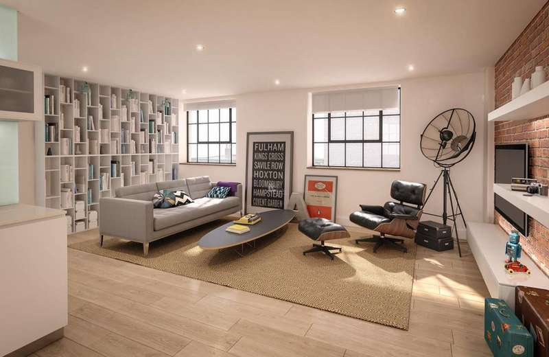 2 Bedrooms Flat for sale in Chevron Apartments, Bermondsey, SE1