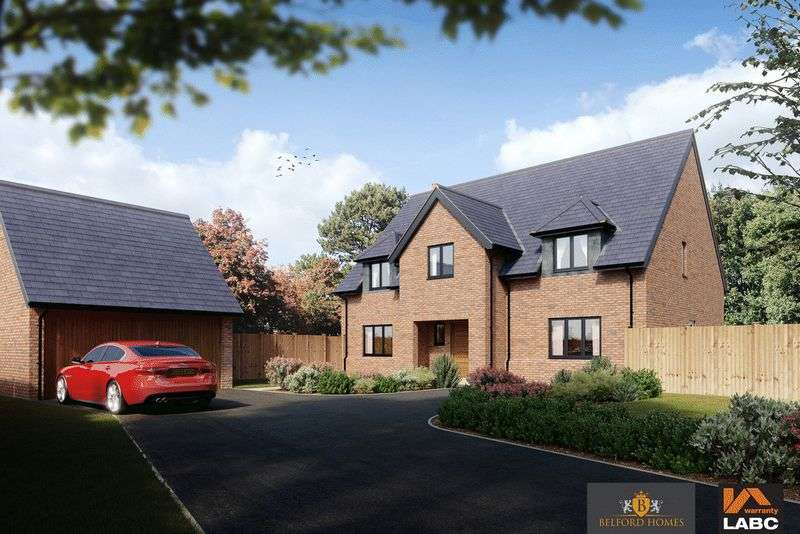 5 Bedrooms Detached House for sale in Pear Tree Croft, Norton-In-Hales, Market Drayton