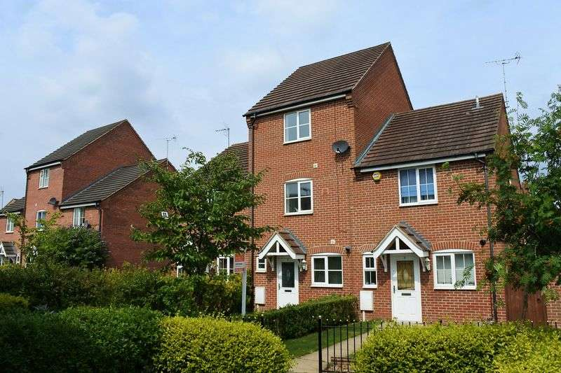 3 Bedrooms Semi Detached House for sale in Yeldersley Court, Grantham