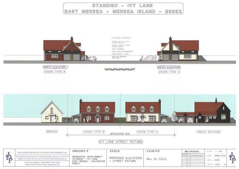 Land Commercial for sale in Ivy Lane, East Mersea, Essex, CO5 8US