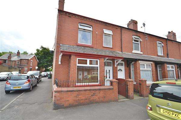 2 Bedrooms End Of Terrace House for sale in Kimberley Street, Coppull, Chorley