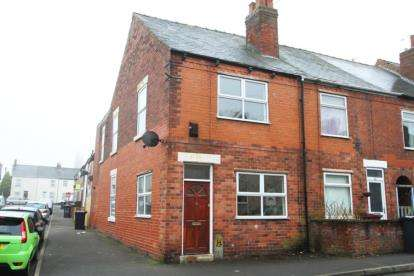 3 Bedrooms End Of Terrace House for sale in Chapel Road, Grassmoor, Chesterfield, Derbyshire