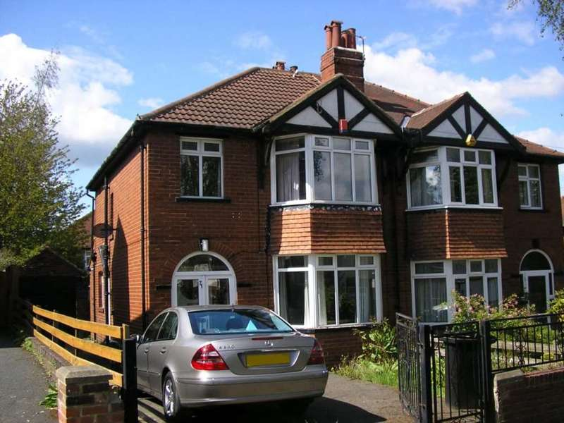 3 Bedrooms Semi Detached House for sale in Becketts Park Crescent, Headingley