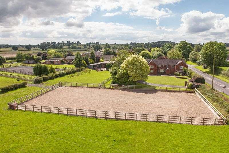 5 Bedrooms Detached House for sale in Fountain Cottage, Slindon, Staffordshire