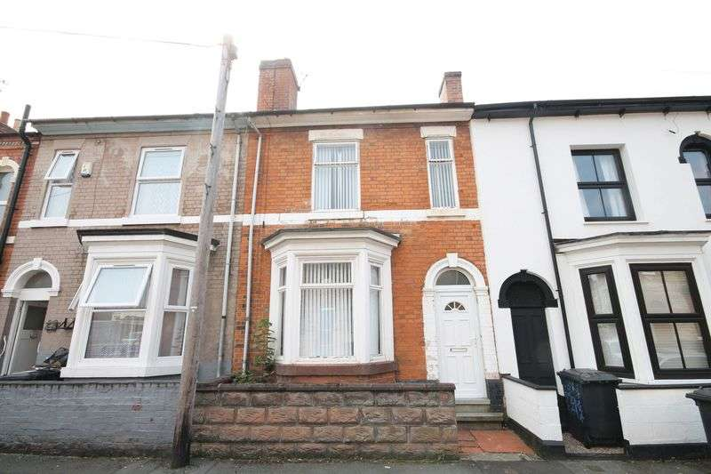 2 Bedrooms Terraced House for sale in Western Road, Derby