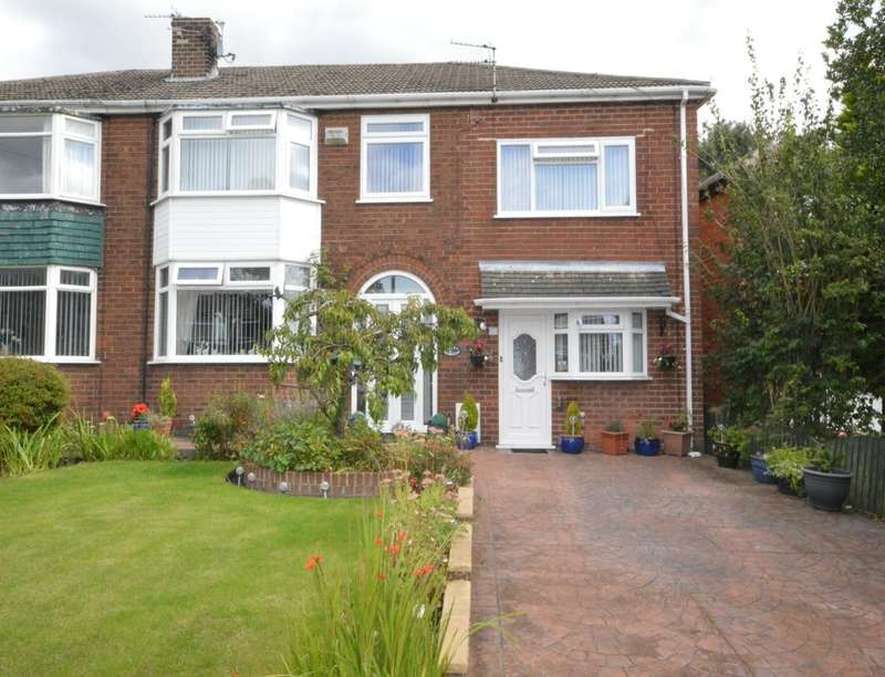 5 Bedrooms Semi Detached House for sale in Moorfield, Boothstown,Worsley, Manchester, M28