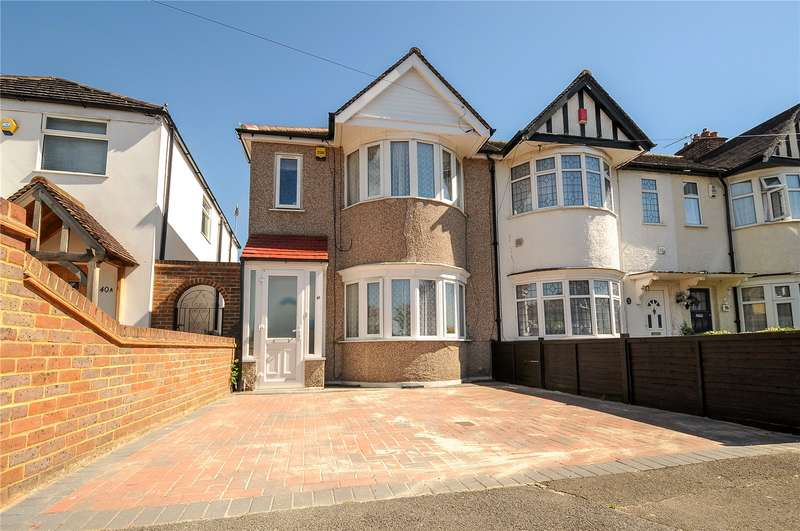 3 Bedrooms End Of Terrace House for sale in Whitby Road, Ruislip Manor, Middlesex, HA4