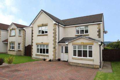 4 Bedrooms Detached House for sale in Knockdhu Place, Gourock