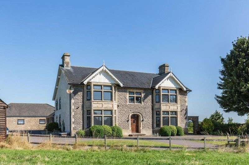 5 Bedrooms Detached House for sale in Vallis Road, Frome