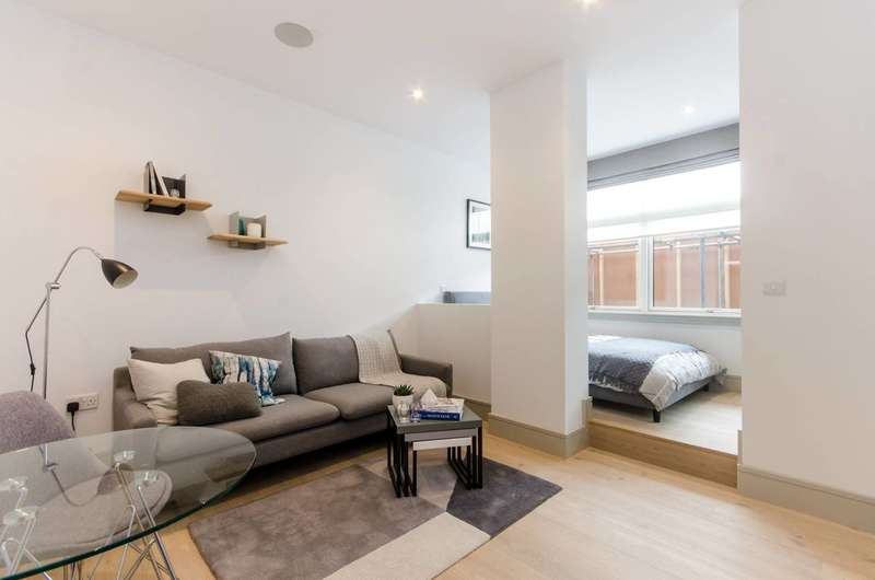 Studio Flat for sale in Britannic House, New Malden, KT3