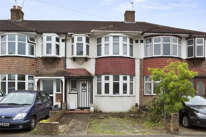 3 Bedrooms Terraced House for sale in Rydens Grove, Hersham, Walton-on-Thames, Surrey, KT12