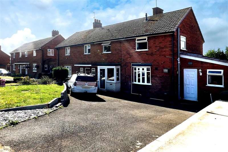 4 Bedrooms Semi Detached House for sale in Dorset Road, Wollaston, Stourbridge, DY8 4SY