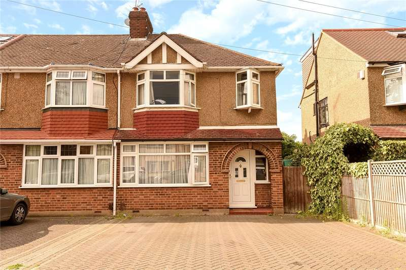 3 Bedrooms End Of Terrace House for sale in Diamond Road, South Ruislip, Middlesex, HA4