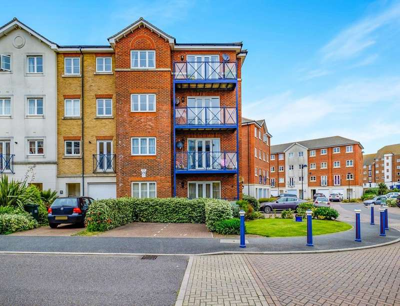 2 Bedrooms Flat for sale in Barbuda Quay, Eastbourne, BN23