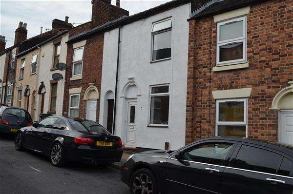 2 Bedrooms Terraced House for sale in Boughey Street, Stoke on Trent