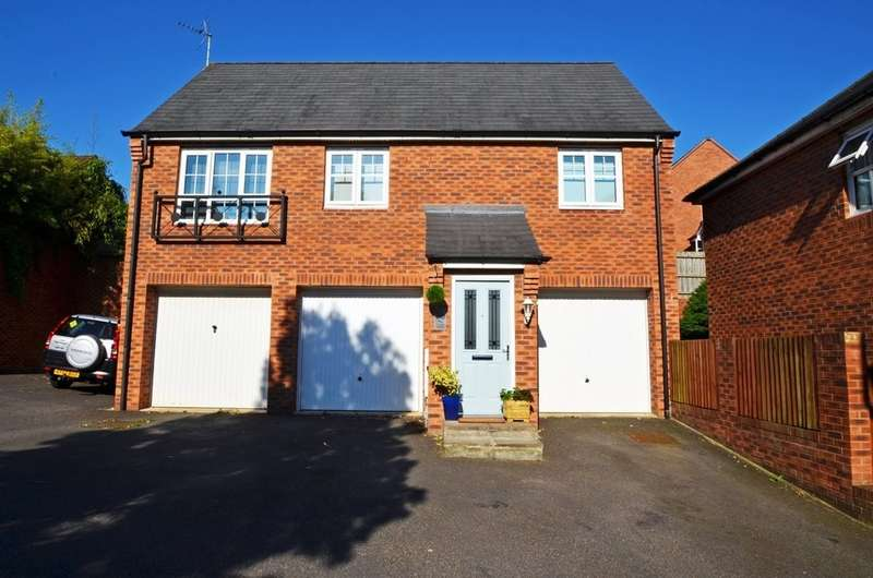 2 Bedrooms Detached House for sale in Sissinghurst Close, Pavillions, Rugby