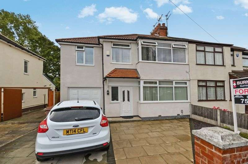 4 Bedrooms Semi Detached House for sale in Regal Drive, Windle, St. Helens, WA10