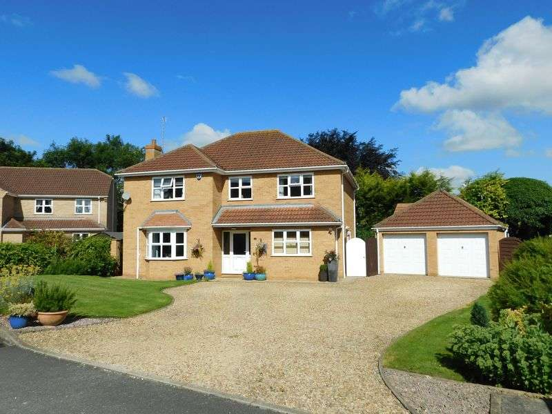 4 Bedrooms Detached House for sale in Cardyke Drive, Baston
