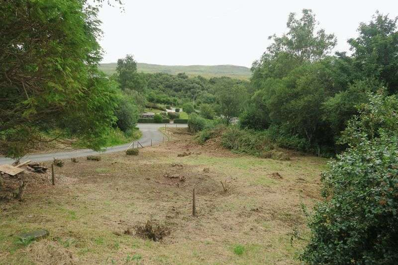 Land Commercial for sale in PORTREE: Plot with PIP, approx 1 mile from village centre